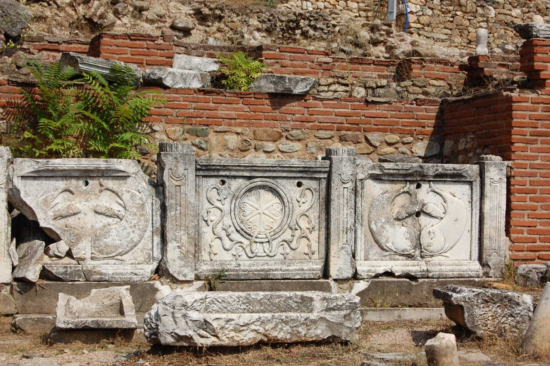 Ancient archaeological town Macedonia