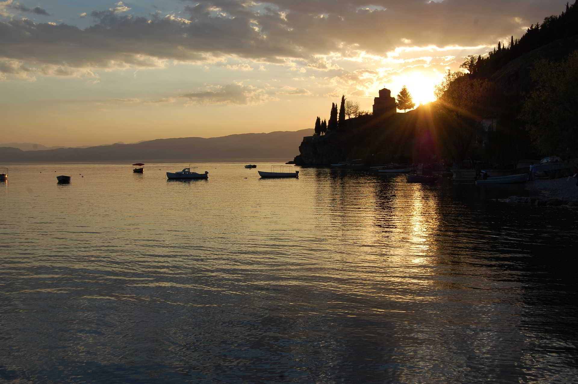 Sunset Kaneo Ohrid