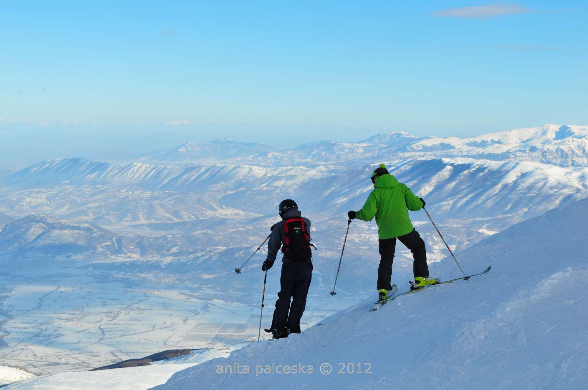 Skiing and winter sports time for macedonia
