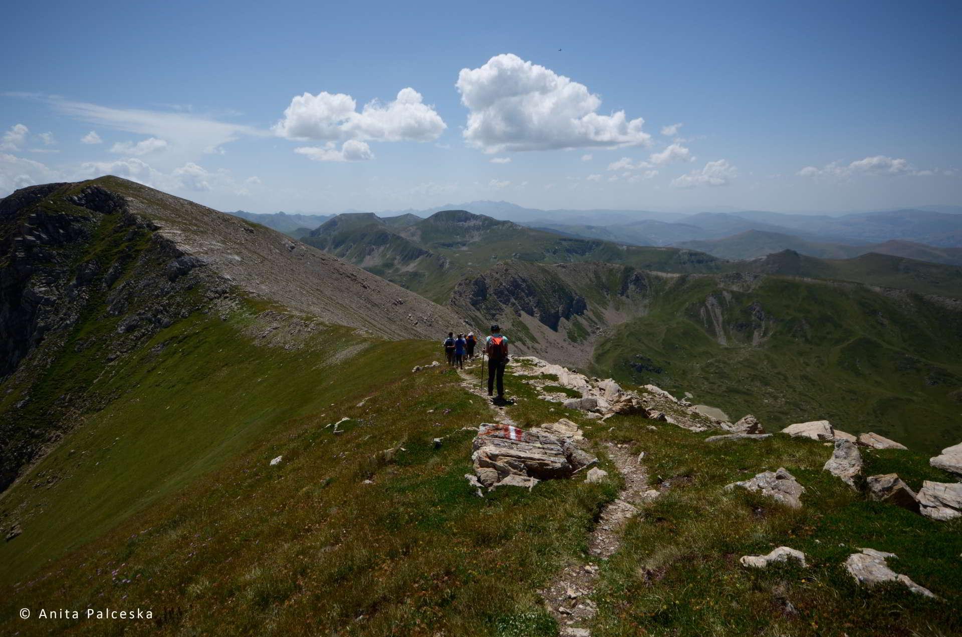 Hiking time for macedonia