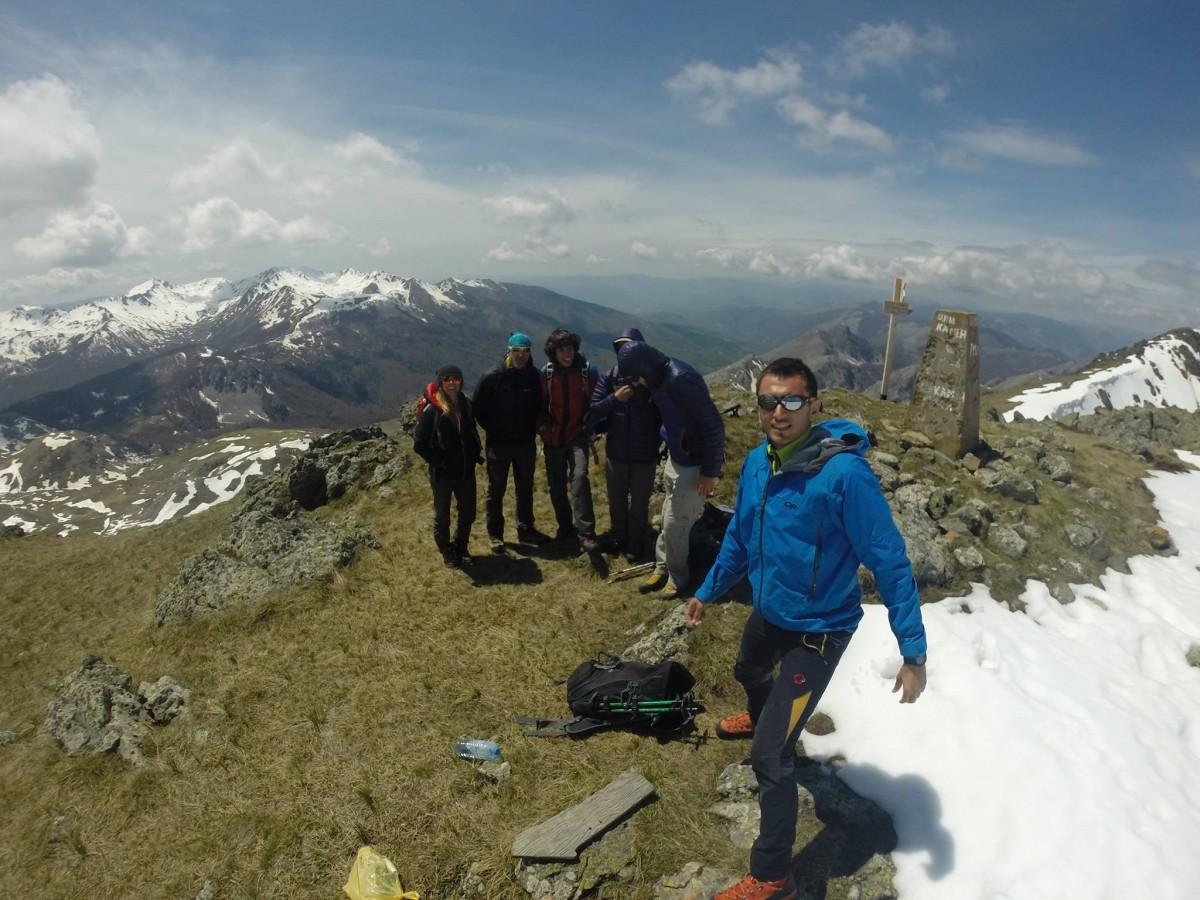 Hiking adventure Crn Kamen