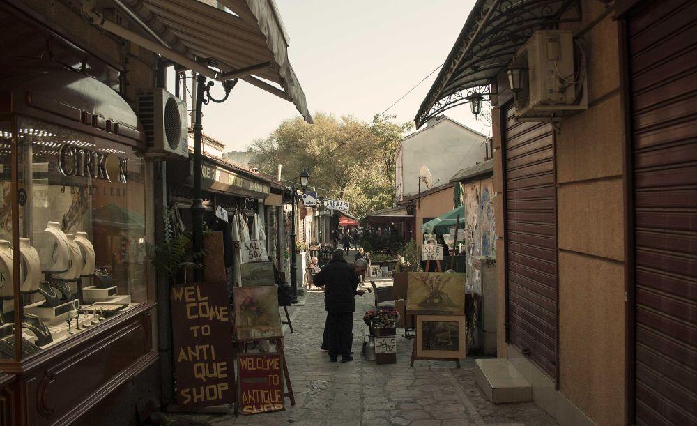 Old Bazar Time for Macedonia Naum Doksevski