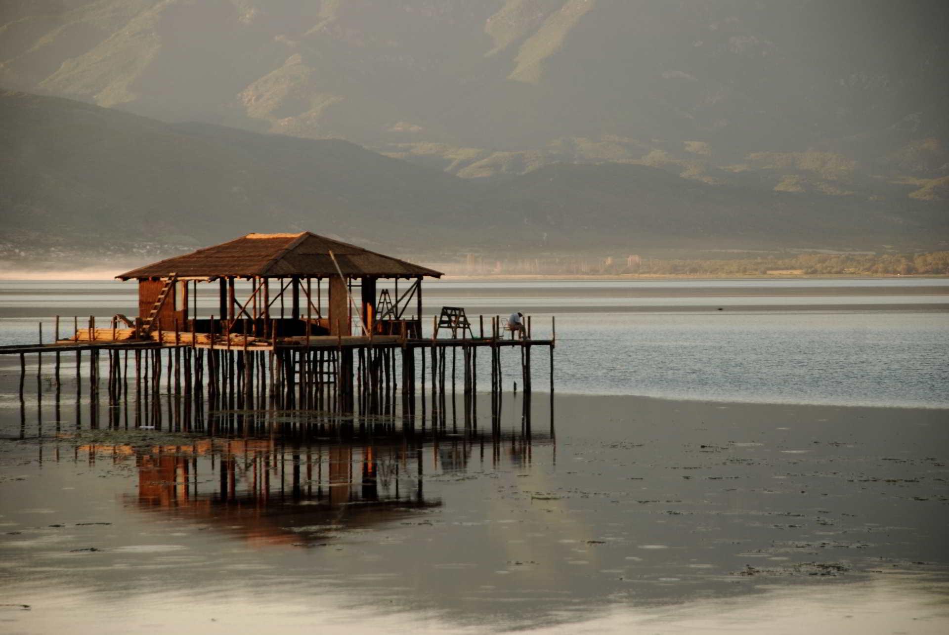 Dojran lake fishing
