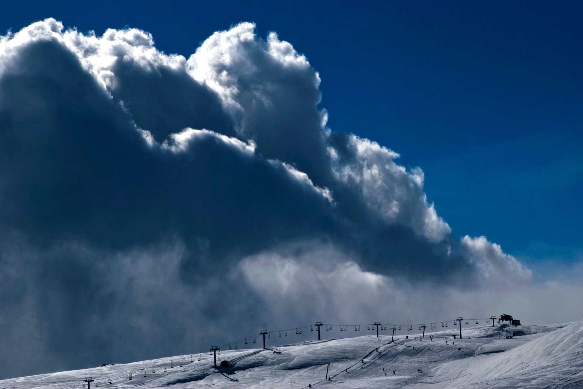 Snow in Macedonia