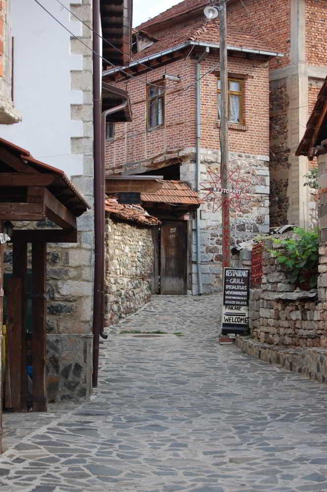 Old street Vevcani