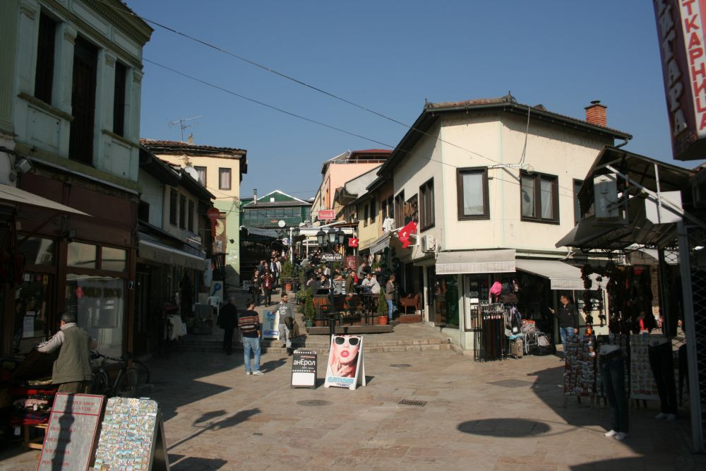 Old Bazar Caffe Time for Macedonia Naum Doksevski