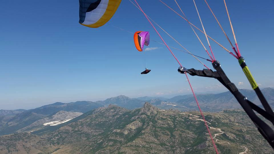 Paragliding Time for Macedonia